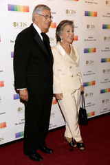 Senator Barbara Boxer (D-CA) and her husband Stewart arrive for the Kennedy Center Honors in Washington
