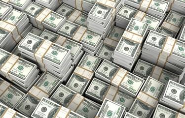 money bills 3d illustration