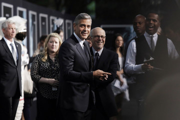 """Actor George Clooney arrives for the film premiere of """"Gravity"""" in New York"""