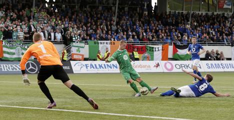UMF Stjarnan v Celtic - UEFA Champions League Second Qualifying Round Second Leg
