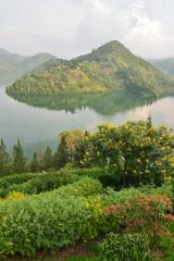 Lake kivu in Rwanda, Africa