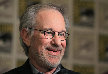 File photo of Spielberg making his inaugural appearance at Comic Con in San Diego