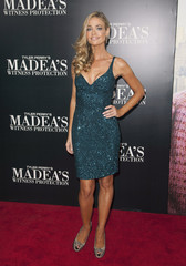 "Cast member Denise Richards arrives for the New York premiere of Tyler Perry's ""Madea's Witness Protection"" in New York"
