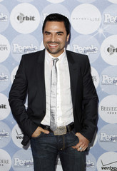 """Dominican actor Manny Perez arrives to attend People En Espanol's """"50 Most Beautiful"""" event in New York"""