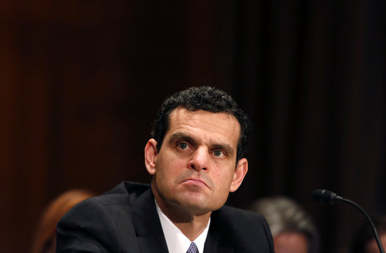 Undersecretary of State for Terrorism and Financial Intelligence David Cohen testifies before a Senate Banking, Housing and Urban Affairs Committee