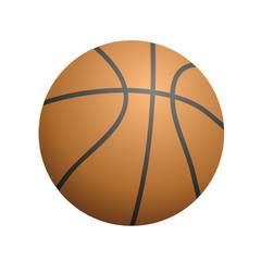 orange ball of  basketball
