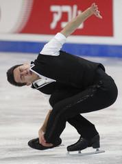 Canada's Chan skates during the men's short program at the ISU Grand Prix of Figure Skating Finals at the Pavillon de la Jeunesse in Quebec City