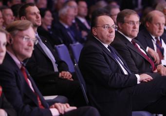 President of Germany's Bundesbank Weber attends CDU economic council in Berlin