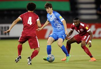Football Soccer - Qatar v Uzbekistan - 2018 World Cup Qualifier