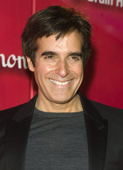 "Illusionist David Copperfield arrives for the ""Power of Love Gala"" and 70th birthday celebration for Muhammad Ali in Las Vegas"