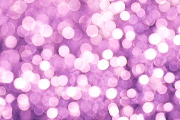 Purple and Violet Light Bokeh Background