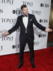 Singer Martin arrives for the American Theatre Wing's 64th annual Tony Awards ceremony in New York