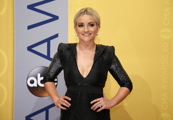 Actress Jamie Lynn Spears arrives at the 50th Annual Country Music Association Awards in Nashville