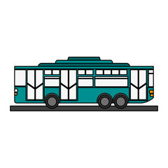 toy bus graphic icon vector illustration design