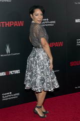 "Actress Selenis Leyva attends the premiere of ""Southpaw"" in New York"