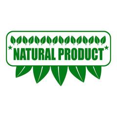 Eco food organic bio products eco friendly badge vegan icon ecology vector