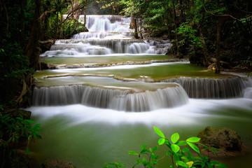 Huay Mae Kamin, Thailand waterfall in Kanjanaburi