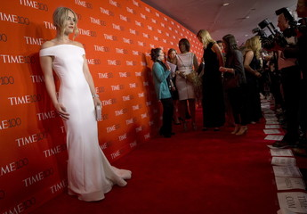 Skier Lindsey Vonn arrives for the TIME 100 Gala in New York