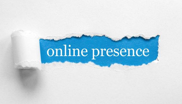 Online Presence / paper