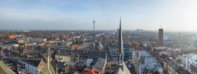 Wesel Panorama Luftbild