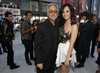 Recording Academy President Portnow and singer Katy Perry arrive at the 2010 MTV Video Music Awards in Los Angeles