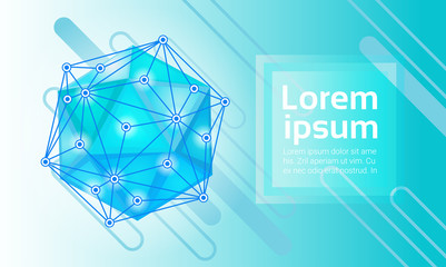 Abstract Geometrical Background Banner Copy Space Vector Illustration