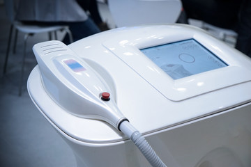 Modern equipment for spa salons on exhibition