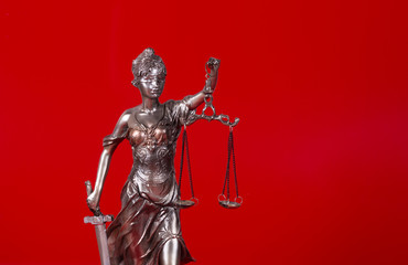 Themis.Red background