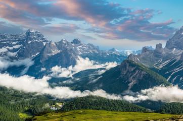 Tre Cime di Lavaredo. Dolomites alps. Italy