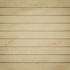 Cartoon square vector background with wooden boards