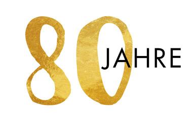 80 Jahre