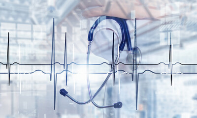 Concept of cardiology and heart health