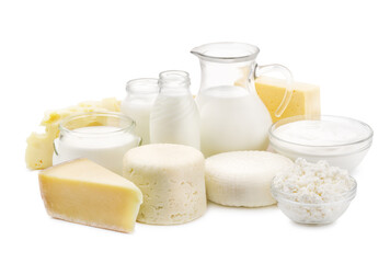 Papiers peints Produit laitier Fresh dairy products