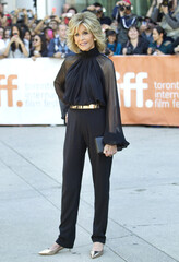 "Actress Jane Fonda arrives at the premiere of ""This Is Where I Leave You"" at the Toronto International Film Festival"