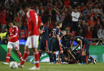 Benfica v Bayern Munich - UEFA Champions League Quarter Final Second Leg
