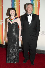Ballerina Patricia McBride and Jean-Pierre Bonnefoux arrive for the Kennedy Center Honors in Washington