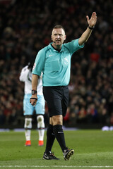 Britain Football Soccer - Manchester United v West Ham United - Premier League - Old Trafford - 16/17 - 27/11/16Referee Jonathan MossAction Images via Reuters / Carl RecineEDITORIAL USE ONLY. No use with unauthorized audio, video, data, fixture lists,