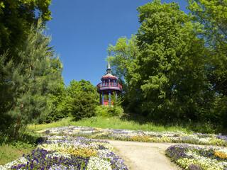 Aussichtsturm Botanischer Garten Hof