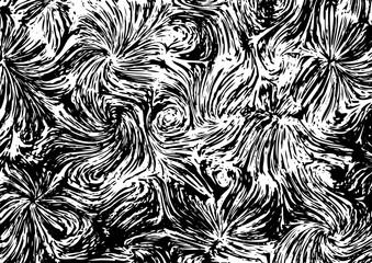 Vector texture a la Vincent van Gogh