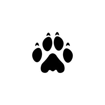 lion paw print