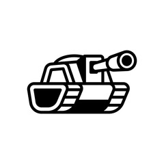 Tank logo illustration