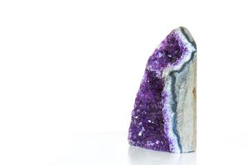 Fototapete - Amethyst crystal a semiprecious gem