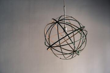 竹細工のランプシェード