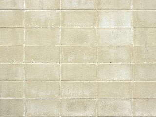 コンクリートブロックの壁