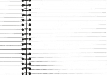 Distressed overlay texture of notepad