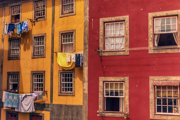 Porto, Portugal: traditional building in the old town