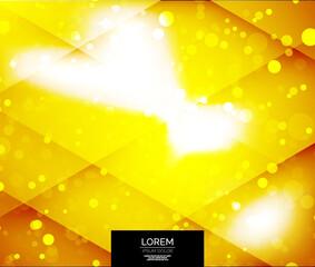 Vector shiny glittering light background
