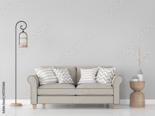 Modern Vintage Living Room Interior 48d Rendering ImageThere Are Extraordinary Living Room Brown Couch Minimalist