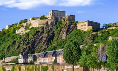 Festung Ehrenbreitstein Koblenz Rhein