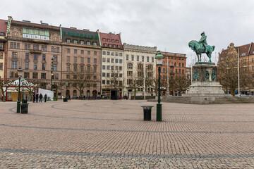 Malmo cityscape Stortorget